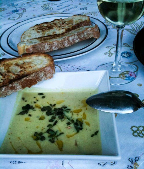 Kartoffel Taleggio Suppe