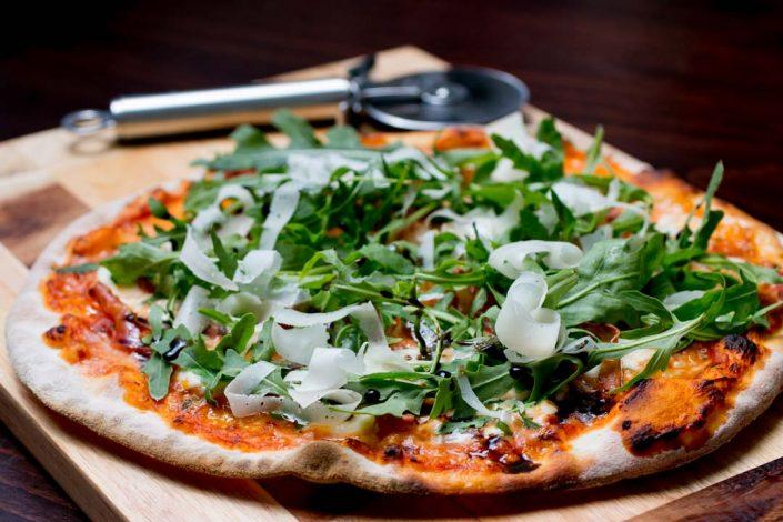 Rucolla Panchetta Pizza