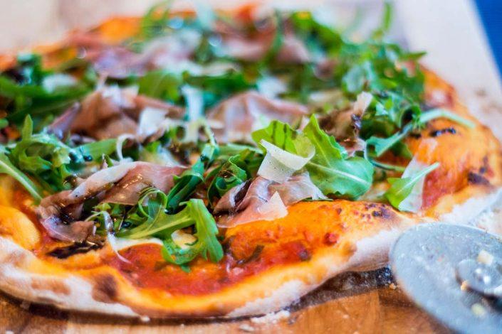 Pizza Rucolla con prosciutto di Parma