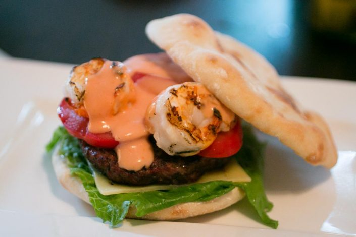 Surf 'n' Turf Burger