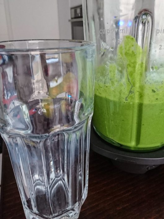 Green Smoothie blended